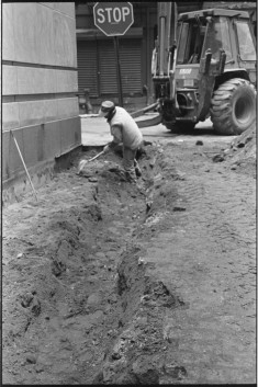Excavation on Stone Street, 1998