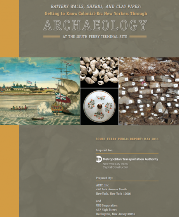 Battery Wall Sherds report cover