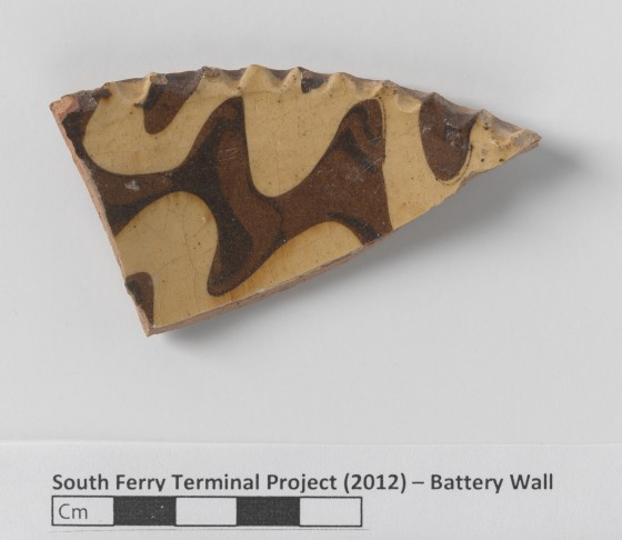South Ferry Terminal - Battery Wall