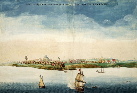 New Amsterdam in 1664